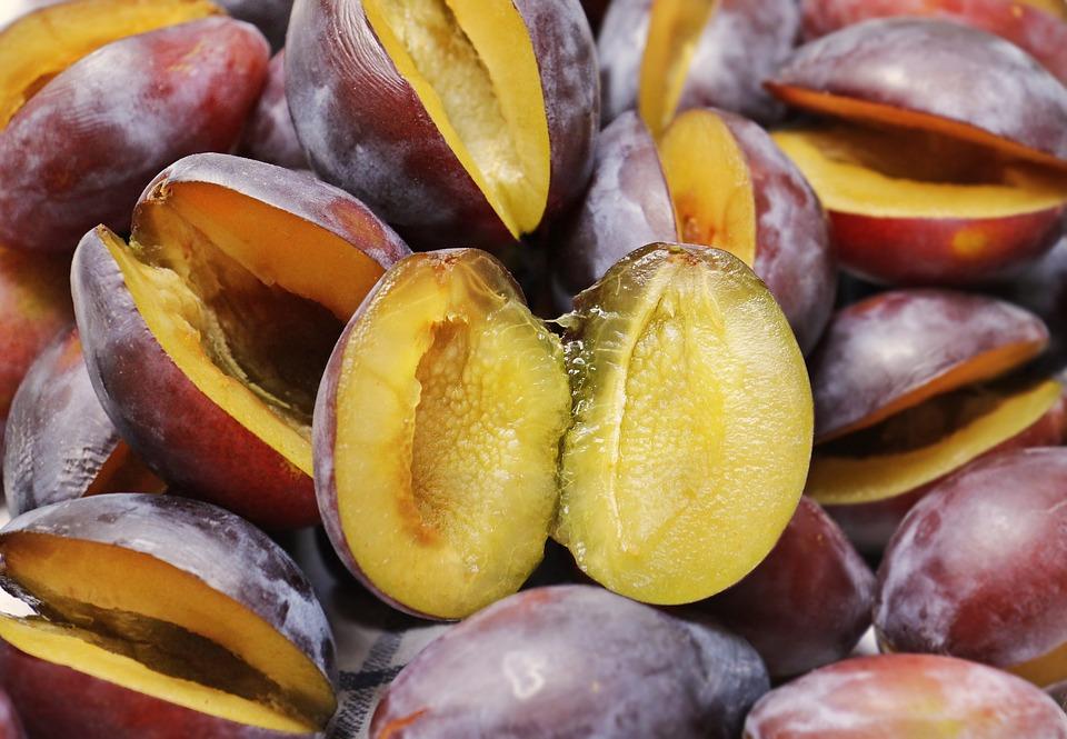 Slivky sú výborným zdrojom vitamínu E a vlákniny